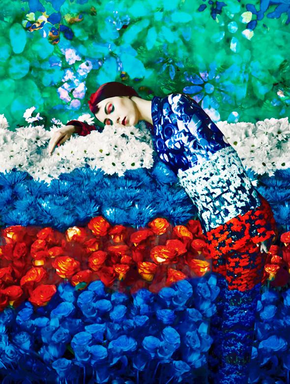 Лукбук: Mary Katrantzou SS 2012. Изображение № 6.