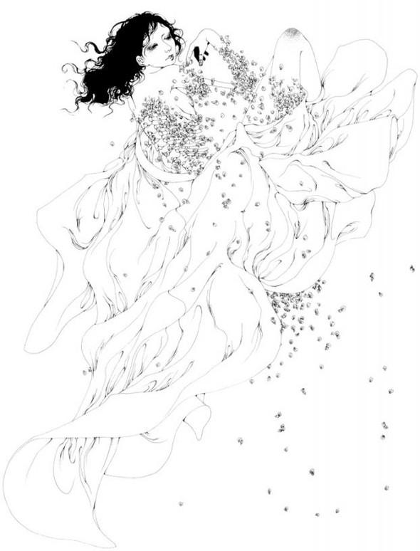 Katsuta Mako – черно-белая грация. Изображение № 41.