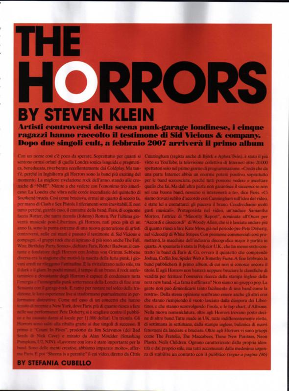 Архивная съёмка: The Horrors для Vogue, 2006. Изображение № 1.