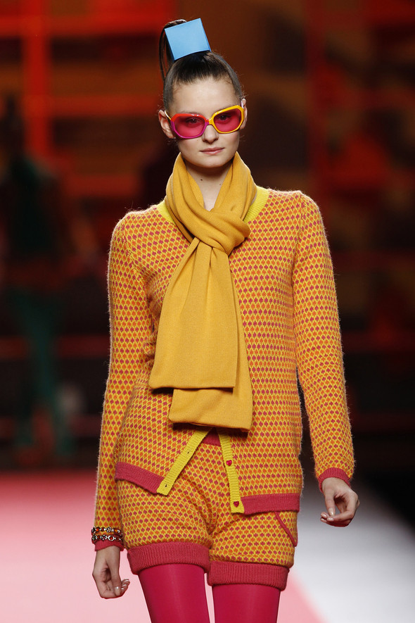 Madrid Fashion Week A/W 2012: Agatha Ruiz de la Prada. Изображение № 5.