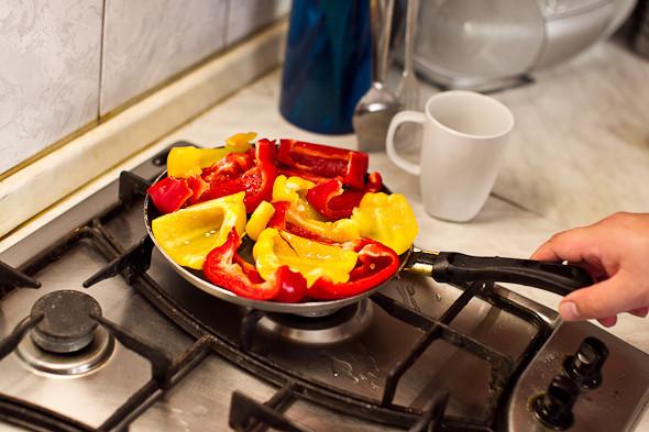 Овощное рагу, гаспачо, греческий салат: Настоящий осенний обед. Изображение № 14.