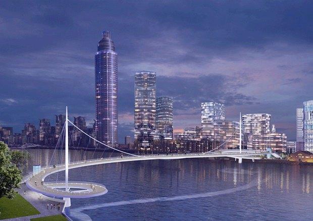 Выложены 74 проекта нового моста через Темзу. Изображение № 46.