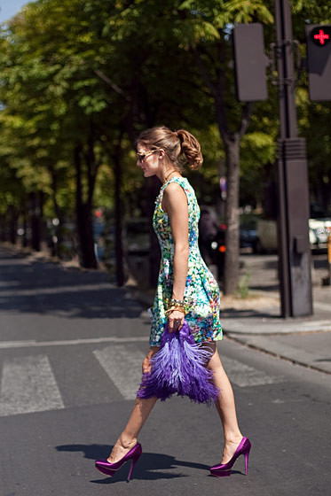 Уличный стиль на Неделе высокой моды в Париже. Изображение № 60.