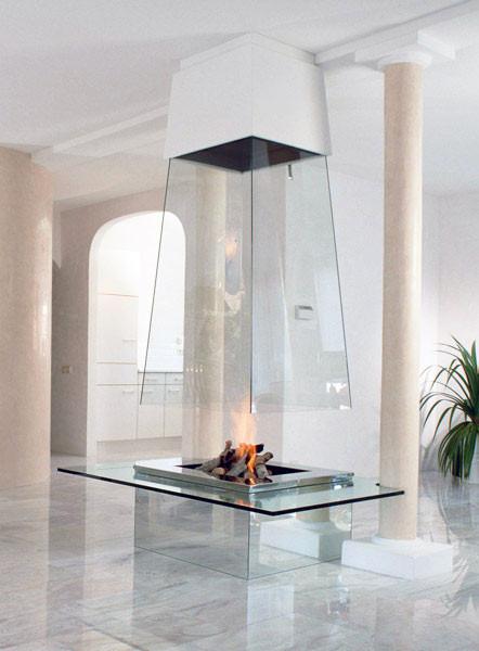 Настоящий огонь у вас дома. 12 вариантов каминов в жилых помещениях. Изображение № 3.