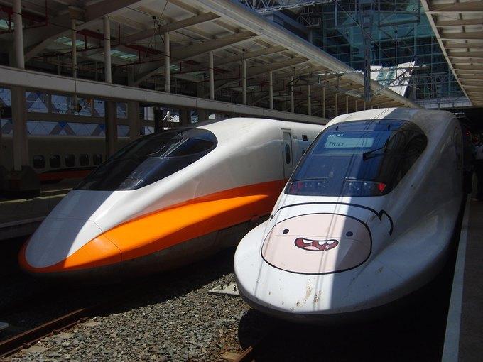 На Тайване запустили поезд в виде Джейка из «Времени приключений». Изображение № 2.