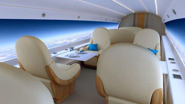 В сверхзвуковых самолётах окна заменят на дисплеи. Изображение № 4.