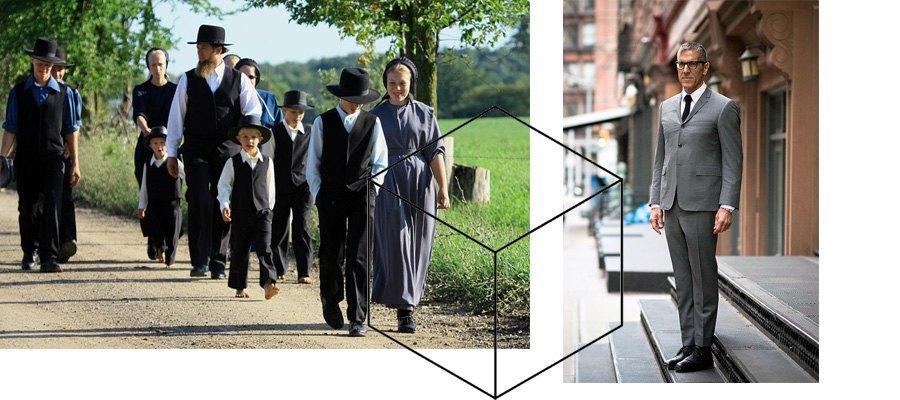 Амиши, изометрическая геометрия, классика мужской одежды. Изображение № 25.