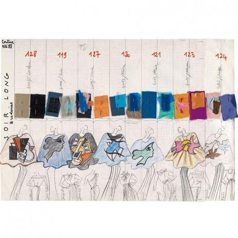 Yves Saint-Laurent, l'uvre Intégral, 1962-2002. Изображение № 3.