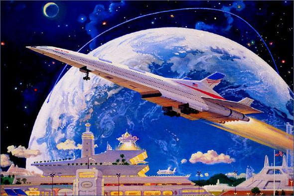 Каким было будущее. Космореализм Роберта МакКолла. Изображение № 2.