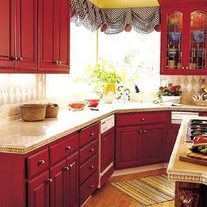 Изображение 13. Модный красный или яркое решение для кухни.. Изображение № 4.