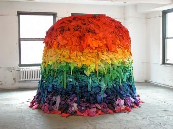 Изображение 3. Recycling Clothing Art.. Изображение № 3.