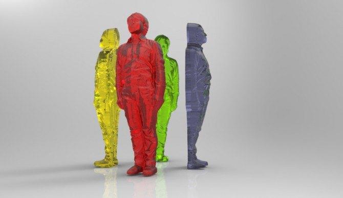 В Японии делают 3D-копии людей из мармелада. Изображение № 1.