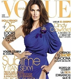 Cindy Crawford, Vogue Spain July 2009. Изображение № 1.