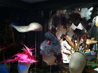 Шляпка-одуванчик для выставки великого шляпника Стивена Джонса. Изображение № 14.
