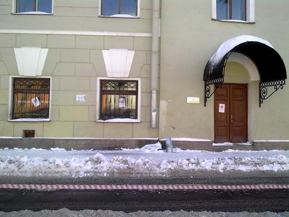 Акт вандализма в Союзе Дизайнеров Спб. Изображение № 2.