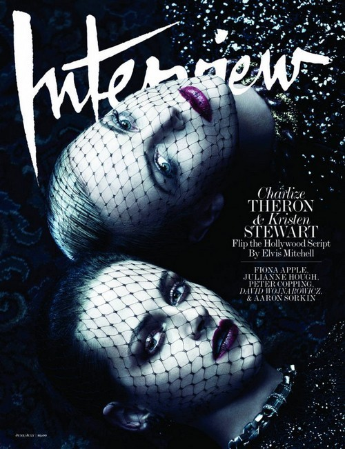 Charlize Theron and Kristen Stewart/Interview. Изображение № 1.