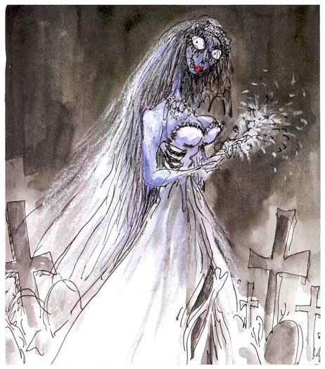 Тим Бартон в роли художника. Изображение № 26.