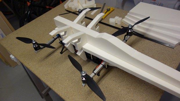 Энтузиаст собрал дрон в виде истребителя X-Wing. Изображение № 5.