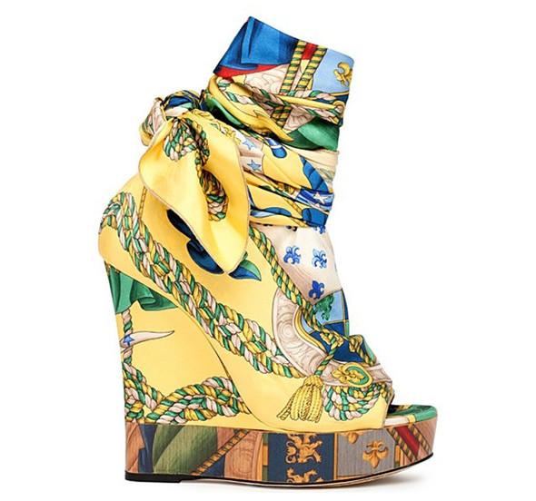 Модная обувь весна-лето 2012 от D&G. Изображение № 2.