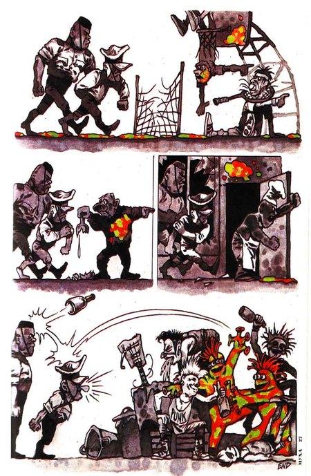Журнал Муха – комиксы вРоссии 90-х. Изображение № 3.