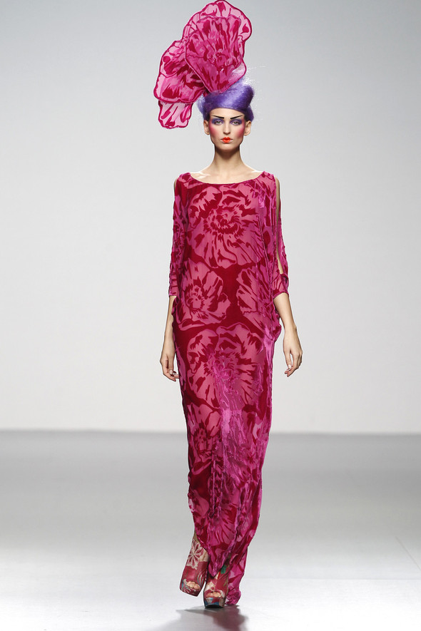 Madrid Fashion Week A/W 2012: Elisa Palomino. Изображение № 1.