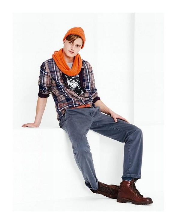Лукбук: United Colors of Benetton Fall 2011 Menswear. Изображение № 16.