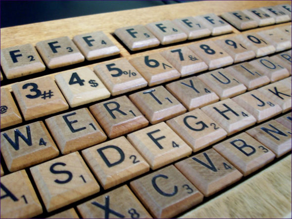 Scrabble-Клавиатура. Изображение № 1.
