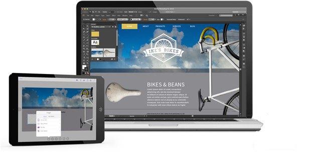 Adobe выпустила приложение для макетирования на iPad. Изображение № 1.