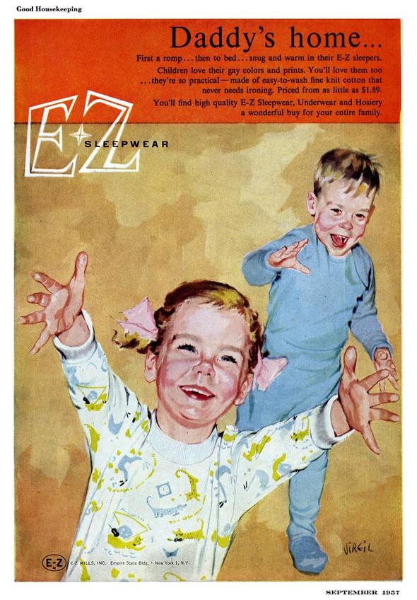 Американские иллюстраторы 40–60гг. ЧАСТЬ 1. Изображение № 32.