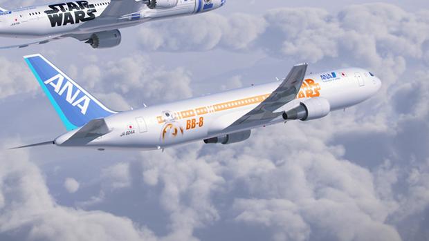 Авиакомпания показала перекраску самолёта под R2-D2. Изображение № 12.