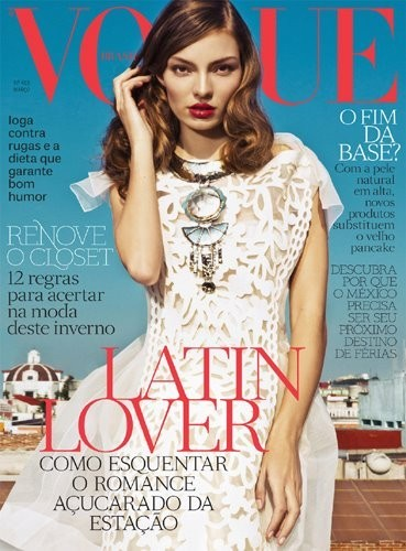 Обложки: Vogue, Interview и Volt. Изображение № 3.