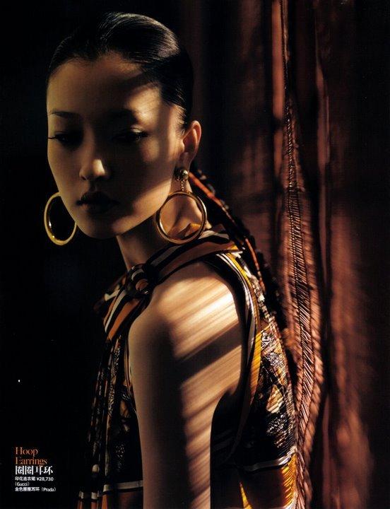 Жаркий выходной (China Vogue, Feb2009). Изображение № 4.