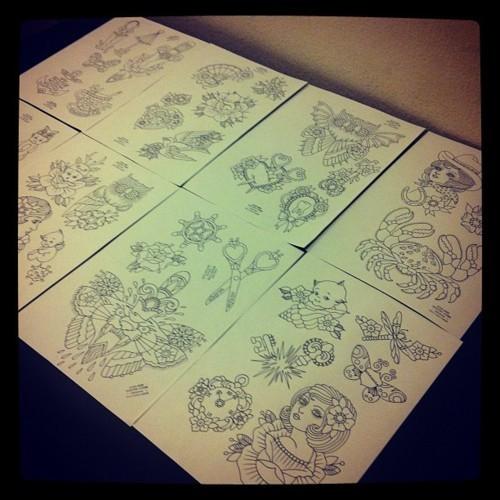 Kim-Anh Nguyen-Dinh : От рисунка к татуировке. Изображение № 12.