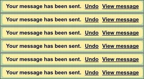 Gmail: «Семь разотмерь – двараза отрежь». Изображение № 1.