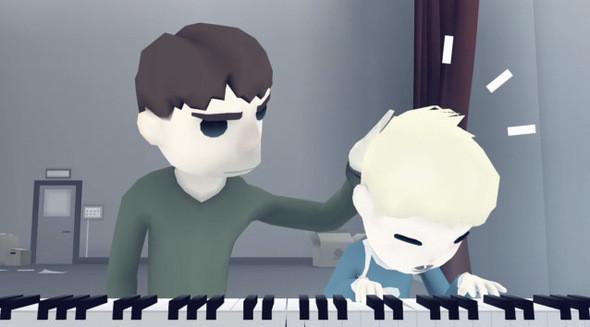 Изображение 2. A boy learns to play the piano и прочие неприятности.. Изображение № 2.