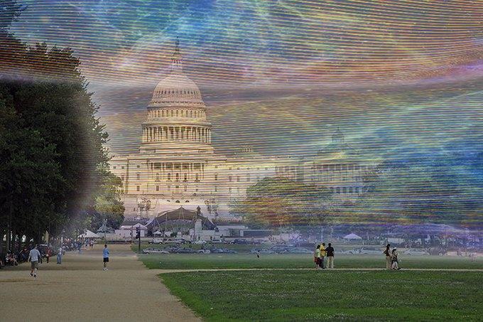 Художник наглядно показал, как выглядит сигнал Wi-Fi. Изображение № 2.