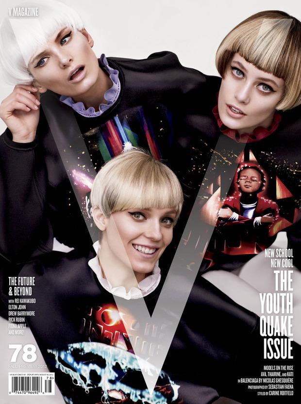 Карин Ройтфельд назначена глобальным директором моды Harper's Bazaar. Изображение № 2.