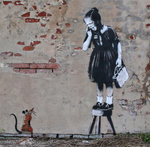 Изображение 39. Banksy (уличная мышь – герой).. Изображение № 39.