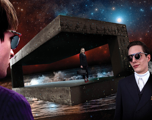 Новый лукбук Prada Real Fantasies посвящен космосу. Изображение № 4.