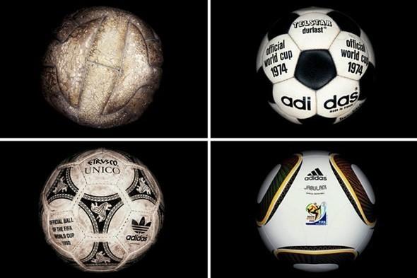 Дизайн футбольных мячей для Чемпионатов мира. Изображение № 1.
