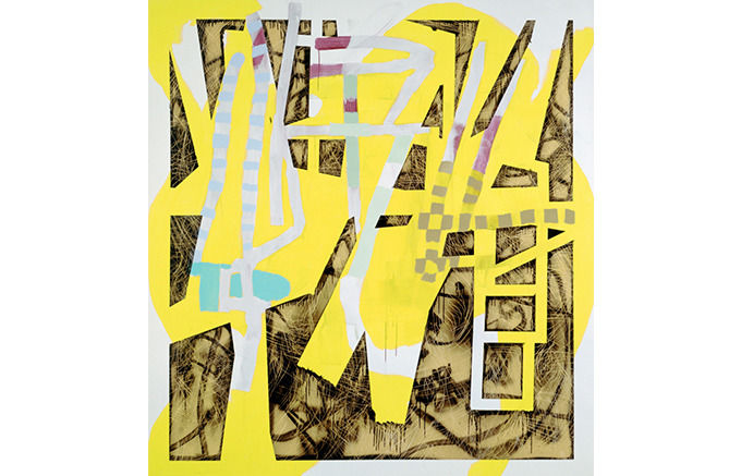 Charline von Heyl, Yellow Rose, 2007. Изображение № 37.