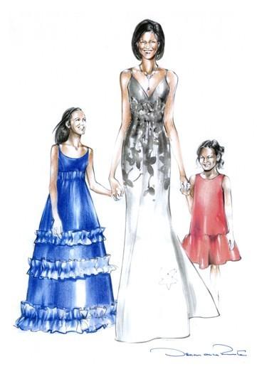 Дизайн одежды дляМишель Обамы. Изображение № 18.