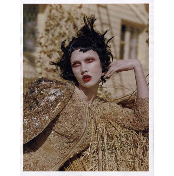 5 новых съемок: Purple Fashion, Vogue и W. Изображение № 42.