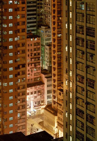 Мегаполисы ночью Гонконг, Дубаи, Нью-Йорк, Шанхай. Изображение № 10.