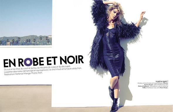 Съемка: Анджела Линдвалл для французского Elle. Изображение № 2.