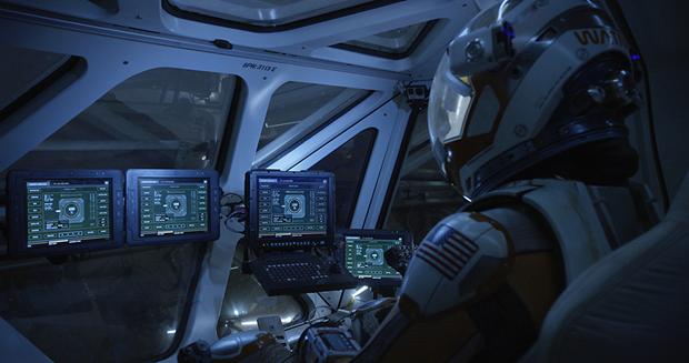Студия рассказала обинтерфейсах в«Марсианине». Изображение № 1.