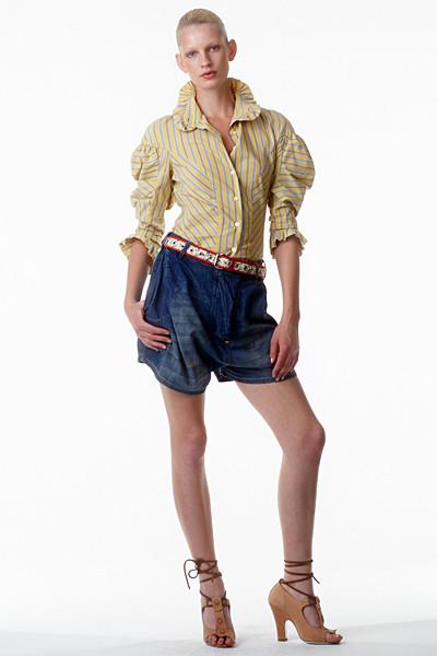 Лукбук: Vivienne Westwood Anglomania SS 2012. Изображение № 23.