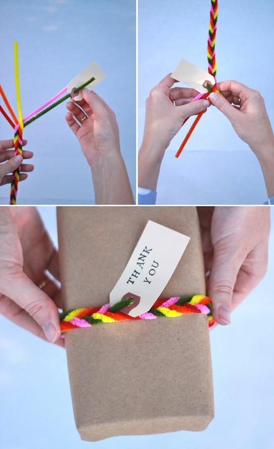 55 идей для упаковки новогодних подарков. Изображение № 96.