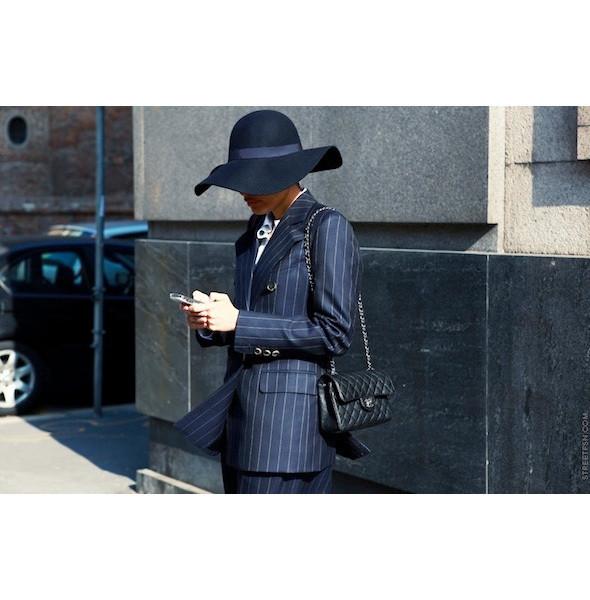 Изображение 7. На полях: 10 тенденций уличного стиля с прошедших недель моды.. Изображение № 7.