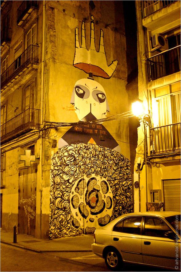 Стрит-арт и граффити Валенсии, Испания. Изображение № 41.